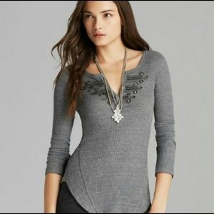 We The Free Thermal Henley